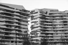 Milán (Italia): Citylife Fotografía de archivo libre de regalías