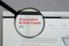Milán, Italia - 10 de agosto de 2017: Logotipo británico asociado o de las comidas Fotos de archivo libres de regalías