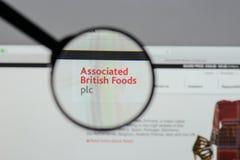 Milán, Italia - 10 de agosto de 2017: Logotipo británico asociado o de las comidas Foto de archivo