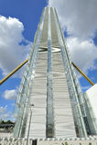 Milán, Italia, nuevo rascacielos de Citylife fotos de archivo