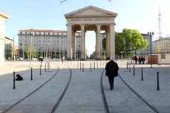 Milán, Milano, expo2015 la puerta ticinese Fotos de archivo libres de regalías