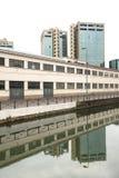 Milán, Naviglio grande Imagen de archivo libre de regalías
