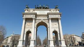 Milán: Paso del della de Arco metrajes