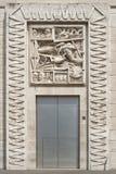 Milán, plaza Affari Fotos de archivo