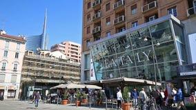 Milán: Tienda de Eataly almacen de metraje de vídeo