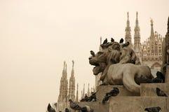 Milão Fotografia de Stock Royalty Free