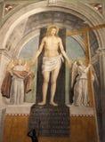 Milão - Christ resurrected fotografia de stock