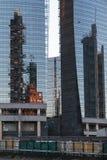 Milão, construções modernas Fotos de Stock Royalty Free