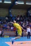 Milão contra Marcegaglia Ravenna A2 (voll A2 italiano Imagem de Stock