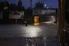 Milão a inundação de seveso do fiume Imagem de Stock Royalty Free