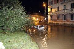 Milão a inundação de seveso do fiume Fotos de Stock