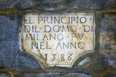 Milão, Itália Foto de Stock