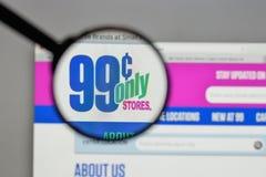 Milão, Itália - 10 de agosto de 2017: Logotipo das lojas dos centavos somente no nós Foto de Stock