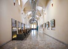 MILÃO, ITÁLIA - 9 DE JUNHO DE 2016: os modelos do ` s de Leonardo da Vinci scien Imagens de Stock Royalty Free