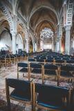 MILÃO, ITÁLIA - DEZEMBRO 10,2015: Igreja Mary santamente de Grace (delle Grazie) de Santa Maria, Milão Fotografia de Stock Royalty Free