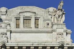 Milão, Itália, estação central Imagens de Stock