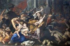 Milão - massacre dos Innocents Imagem de Stock