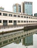 Milão, Naviglio grandioso Foto de Stock Royalty Free