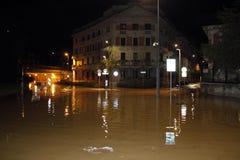 Milão o excesso de seveso do fiume Foto de Stock Royalty Free