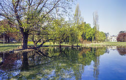 Milão, Parco Sempione Imagens de Stock