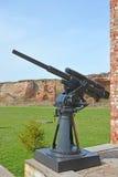 45-milímetro arma universal semiautomática 21-K na fortaleza de Oreshek Foto de Stock