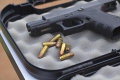 9 milímetros de munição Imagem de Stock