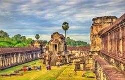 Mil bibliotecas de dios en Angkor Wat, Camboya foto de archivo