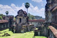 Mil bibliotecas del norte de dios del complejo de Angkor Wat foto de archivo libre de regalías