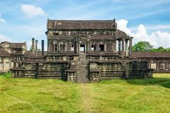 Mil bibliotecas del norte de dios en Angkor Wat, Camboya foto de archivo libre de regalías