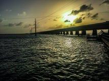 7 mil bro Arkivfoton