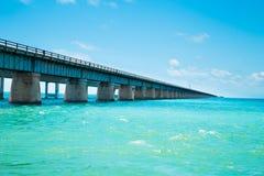 7 mil bro Florida Arkivbild