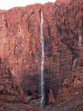 Mil cascadas rojas de la roca del pie Imagen de archivo libre de regalías