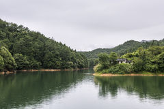 Mil cenários do lago island Fotografia de Stock Royalty Free