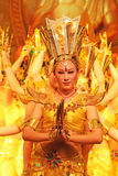 Mil danças da mão em China fotografia de stock royalty free