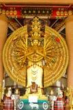 Mil estátuas de buddha das mãos Fotos de Stock Royalty Free