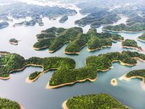 Mil lagos e de água doce azul imagem de stock royalty free