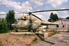 MIL MI 2. Russischer Helicopter MIL MI 2 royalty free stock images