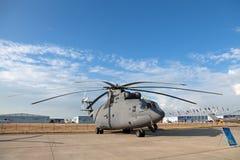 Mil Mi-26 (nome di segnalazione di NATO: Guidacarta) Fotografie Stock