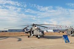 Mil Mi-35 Photographie stock libre de droits