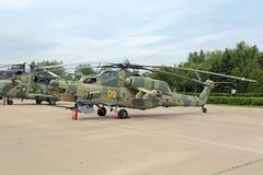 Mil Mi-28 Zdjęcia Royalty Free