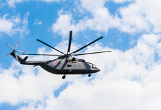 Mil mi-8AMTSH mi-171SH helicopt της ρωσικής Πολεμικής Αεροπορίας Στοκ φωτογραφία με δικαίωμα ελεύθερης χρήσης
