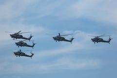 Mil Mi-28 (förstörelse) Royaltyfria Bilder