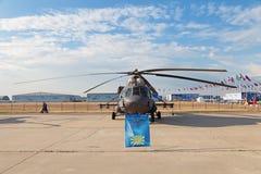 Mil Mi-8 (nom d'enregistrement de l'OTAN : Gratte-cul) Images libres de droits