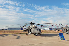 Mil Mi-35 Royalty Free Stock Photography