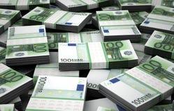 Mil millones euros Imagen de archivo