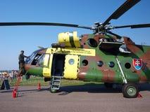 Mil slovaque Mi-17, Radom, Pologne photos stock