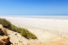 80 mil strand Fotografering för Bildbyråer
