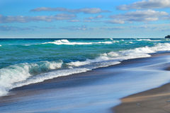 12 mil strand Royaltyfri Bild