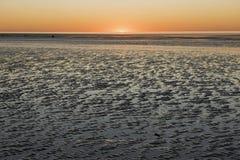 80 mil strand Arkivfoto
