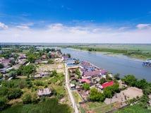 Free Mila 23 Danube Delta Romania. Traditional Fisherman Village In D Stock Image - 100584781